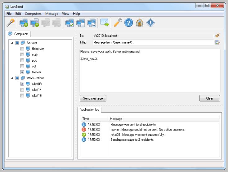 LizardSystems LanSend Free Download