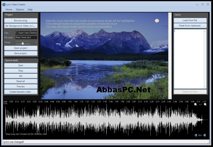 Lyric Video Creator Professional License Key