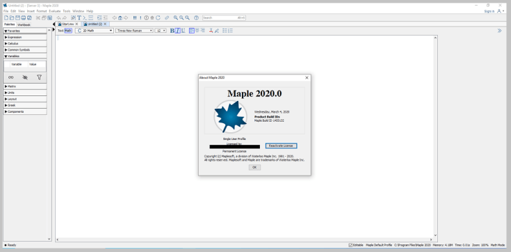 Maplesoft Maple for Windows Free Download
