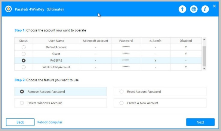 PassFab 4WinKey Ultimate Registration Code