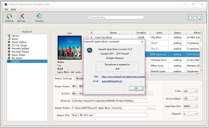 Ukeysoft Apple Music Converter for Windows Free Download