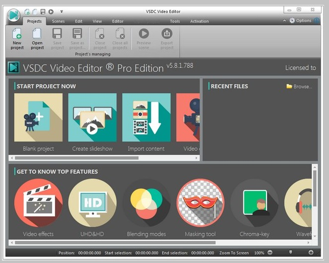 VSDC Video Editor Pro Registered for Windows