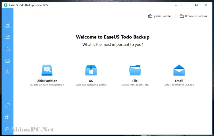 EaseUS Todo Backup Home 13 Full Version Cracked