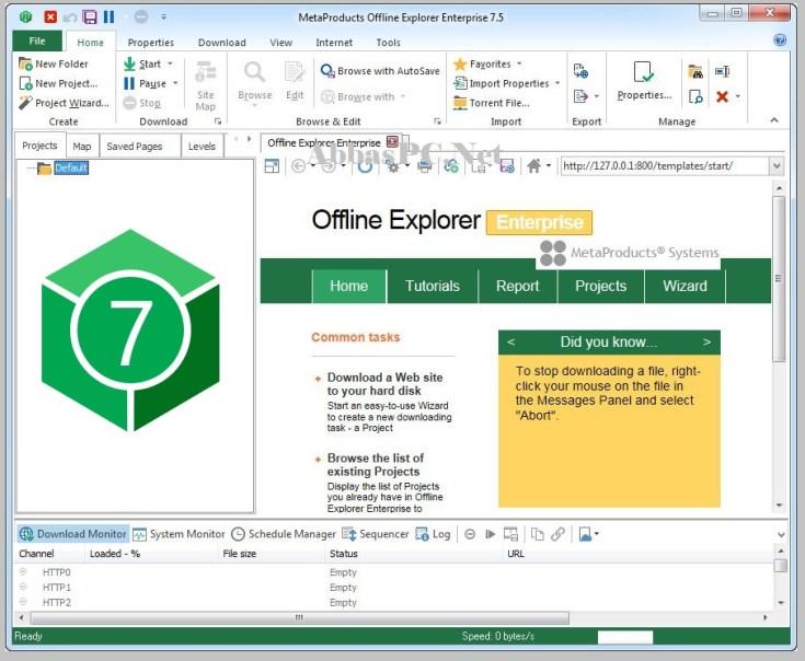 MetaProducts Offline Explorer Enterprise Serial Download