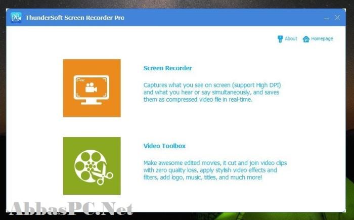 ThunderSoft Screen Recorder Pro 11 Full Version Cracked
