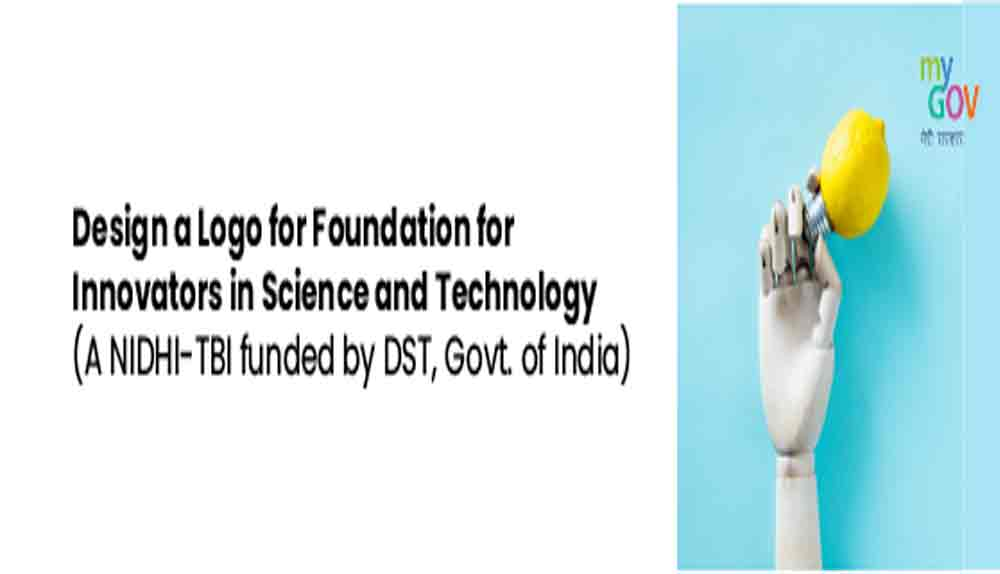 Online Logo Designing Competition | Foundation for Innovators in Science and Technology | 2021 | Free | India | March | April |