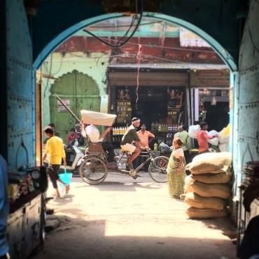 Hing Ki Mandi market, Agra