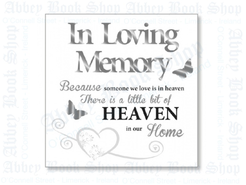 Block Art Wood Plaque – Heaven