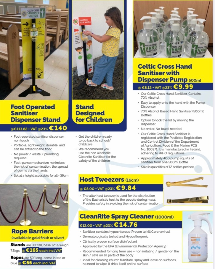 Abbey Bookshop - Safety Products for Churches and Schools