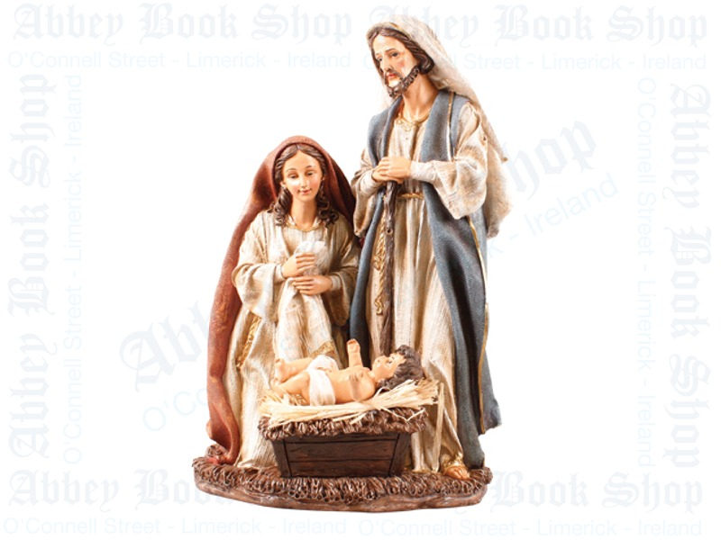 Nativity Set – Holy Family (Resin)