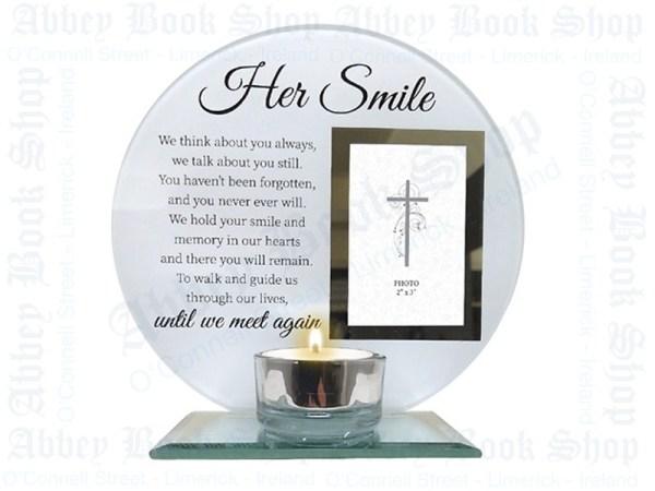 Her Smile Plaque-Abbey-Bookshop-Limerick
