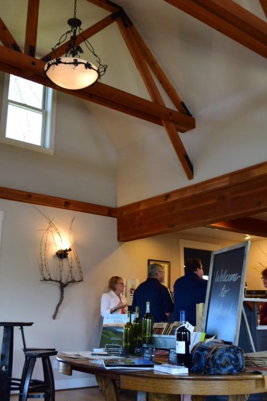 Inside Woodward Canyon Winery