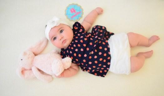 Baby milestone pictures DIY
