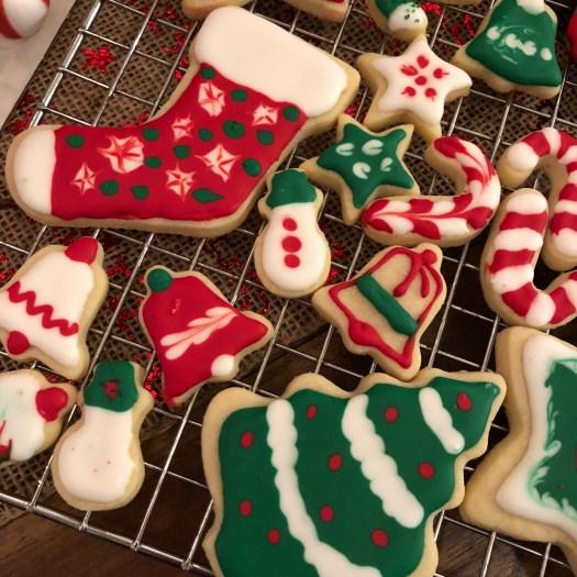 Christmas Sugar Cookie Cutouts Royal Icing 2