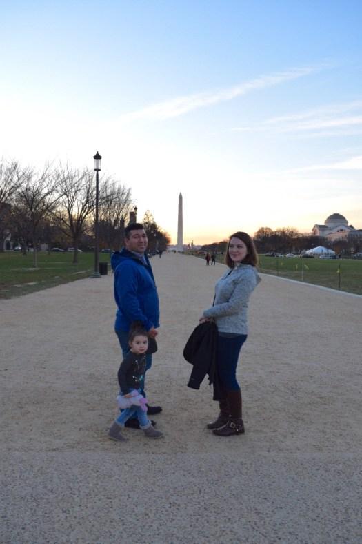 Washington monument mall sunset 1