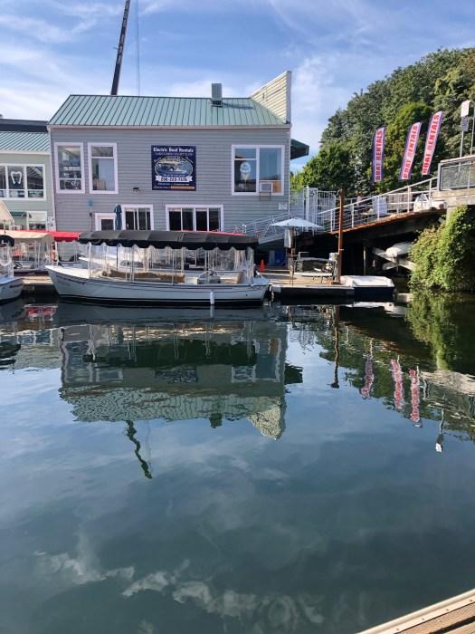 Docks at Northwest Outdoor Center