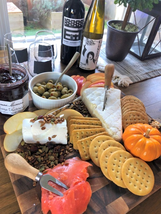 Fall charcuterie board idea 1