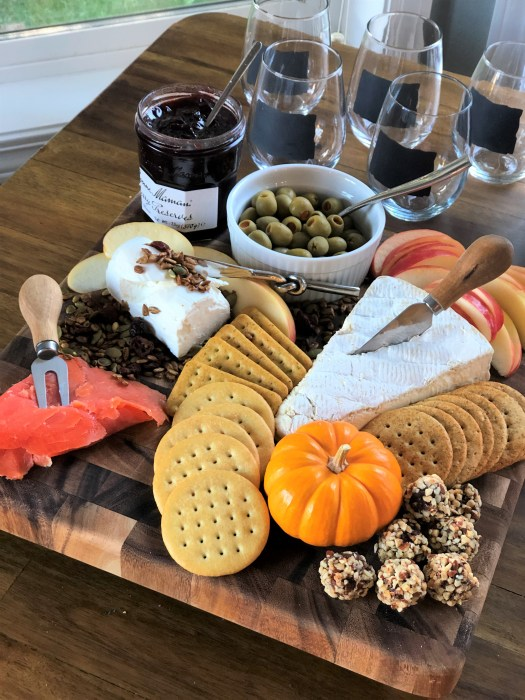 Fall charcuterie board idea 7