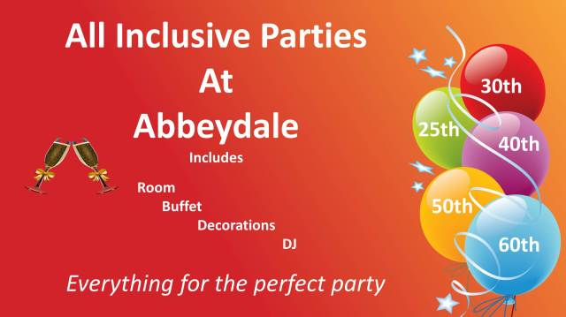 All inclusive parties