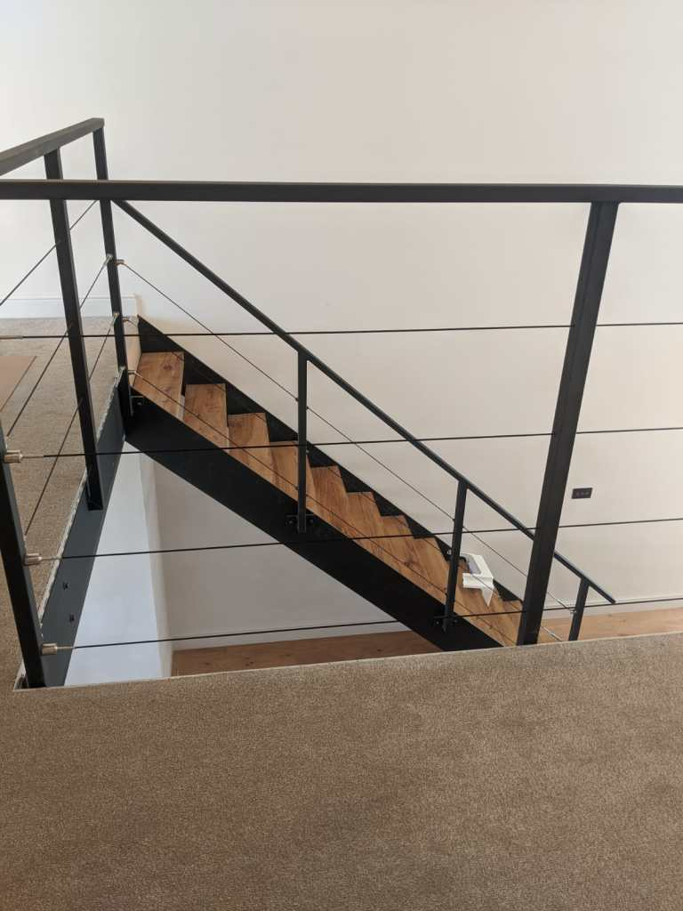 Beautiful Internal Staircase and Balcony