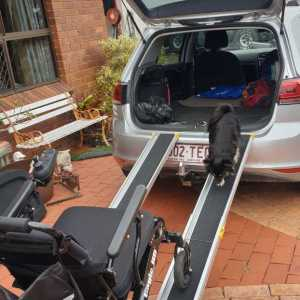 RANA Telescopic Ramps For Wheelchairs
