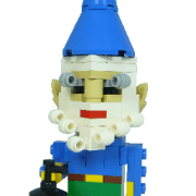 gnome blue hat