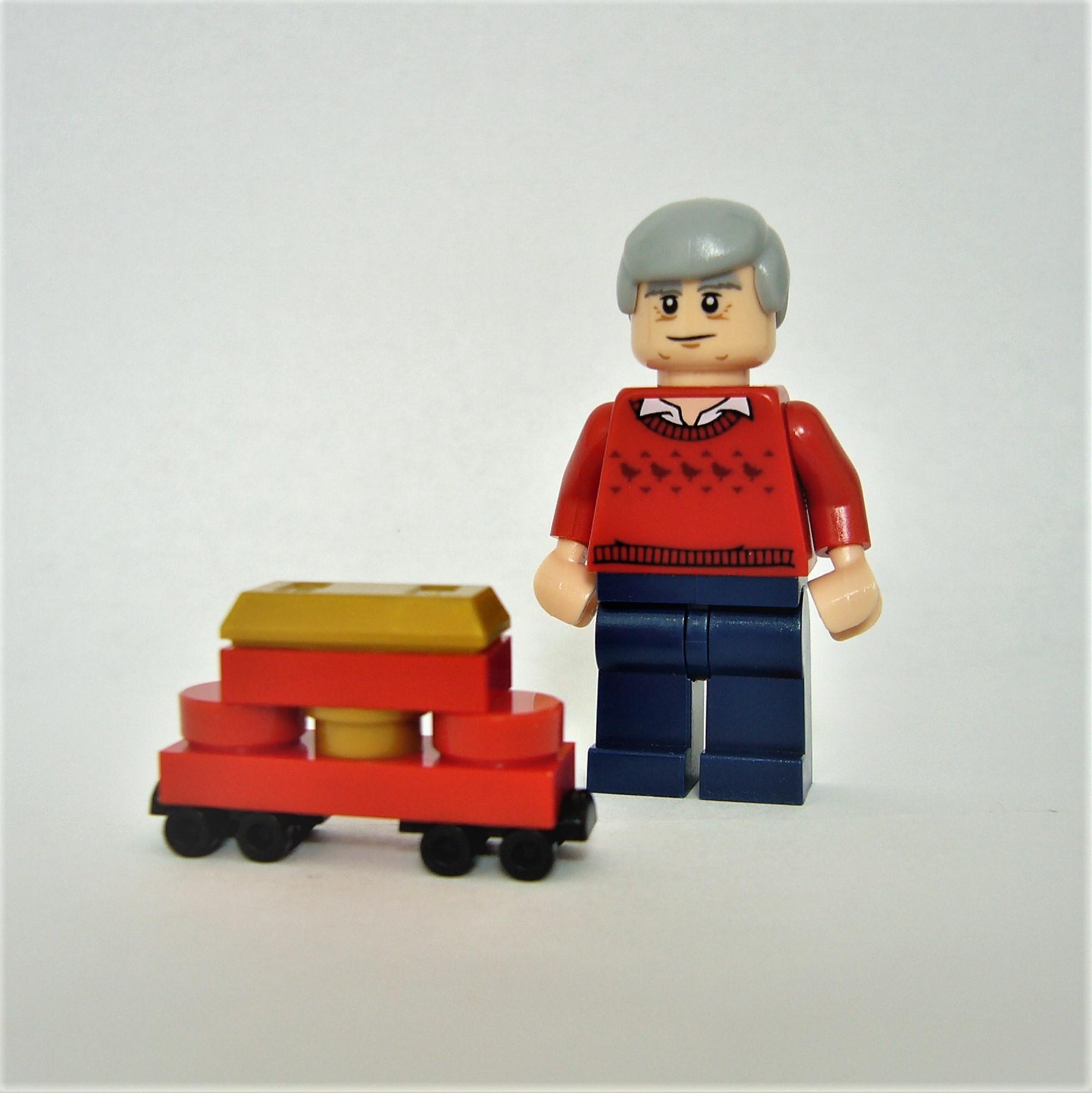 Mr Rogers Minifigure
