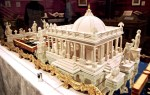 British culinary historian Ivan Day and artist Tony Barton used sugar paste, molds and an 18th century French engraving to recreate Circe's sugar palace.