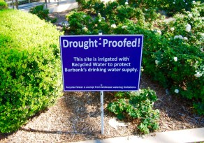 Drought-proofed signage