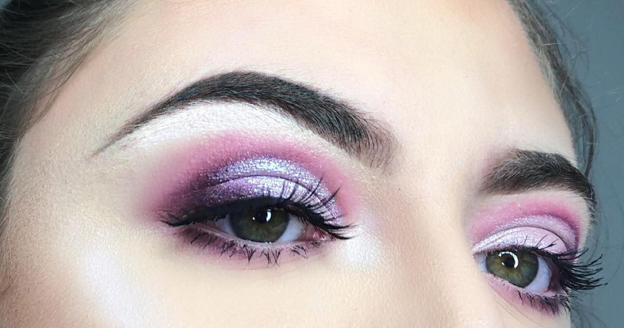 How to Create a Sparkly Cut Crease – Makeup Tutorial