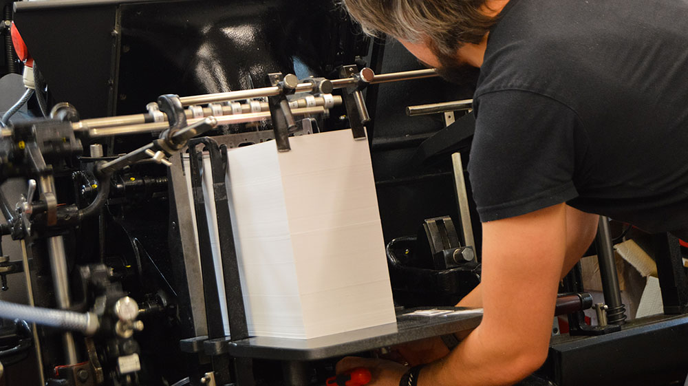 Matt is working on Heidelberg Press