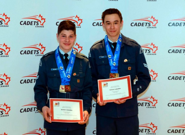 Emmanuel Bussani and Ethan Algra - Top Jr. Male Team & Top Open Male Team Silver - Jr Male Relay Gold - Jr Male Patrol Gold - Open Male Patrol