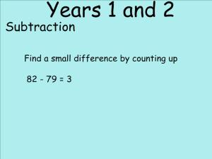 Abbots Langley School Maths Sessions for Parents - Nursery, Reception and KS1_17