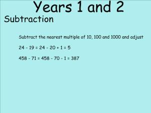 Abbots Langley School Maths Sessions for Parents - Nursery, Reception and KS1_19