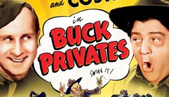 Bud Abbott and Lou Costello in Buck Privates - Universal 100th anniversary collectors edition - swing it