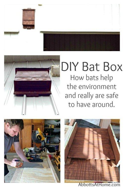 DIY Bat Box - 4 chamber nursery - Attract bats and bat conservancy.