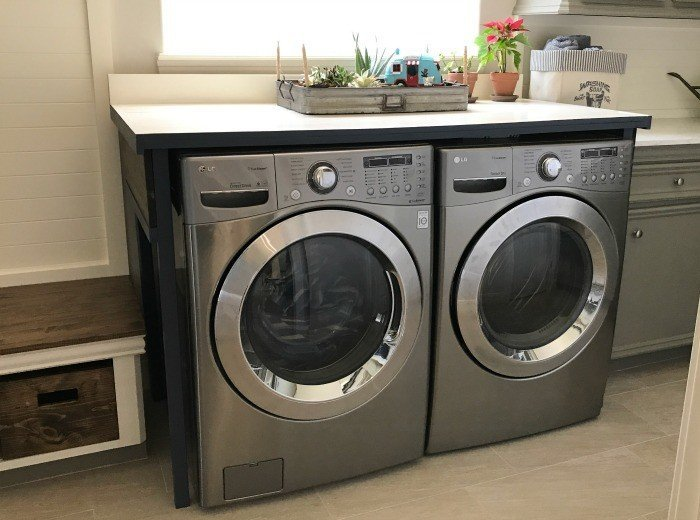 You'll love this DIY Laundry Table, just $85
