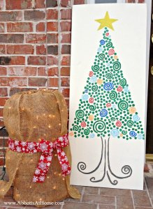DIY Reversible Thanksgiving and Christmas Holiday Signs