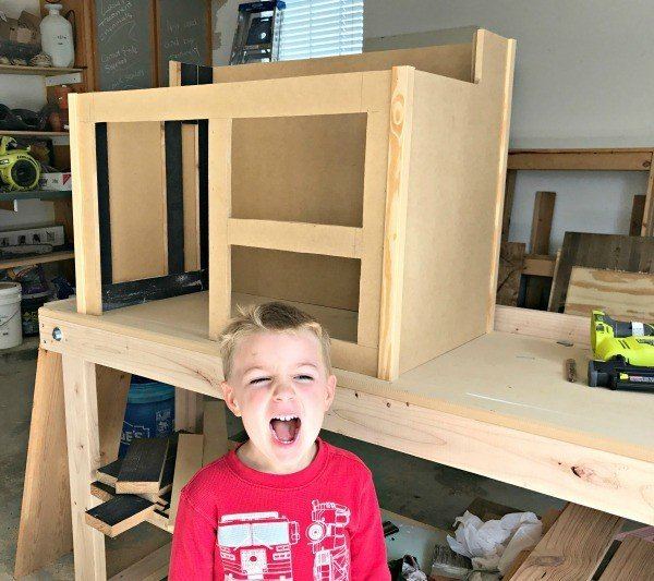 DIY Kids Play Diner