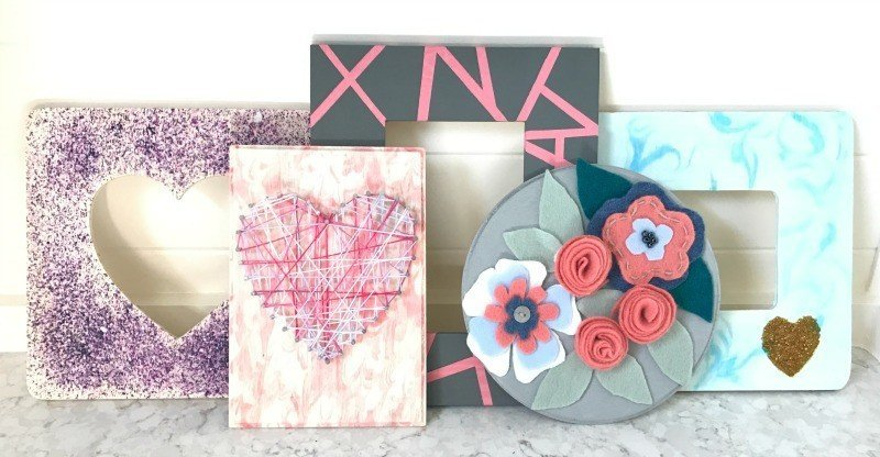 6 Easy and Cheap Valentines Kids Crafts on Wood