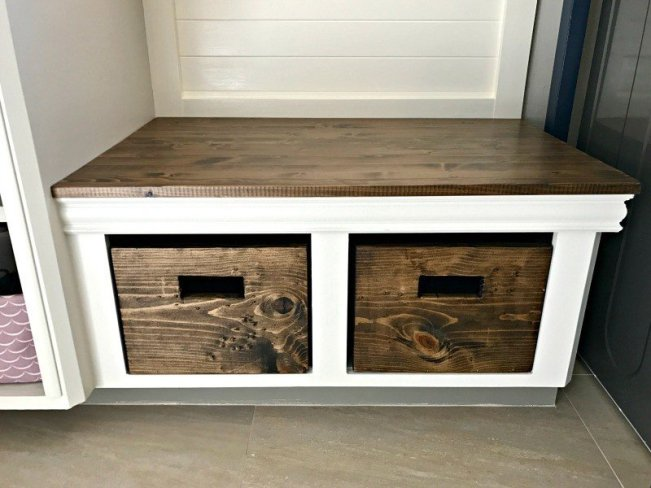 Build a custom and easy DIY Wood Bin or Box for storage using a Kreg Jig