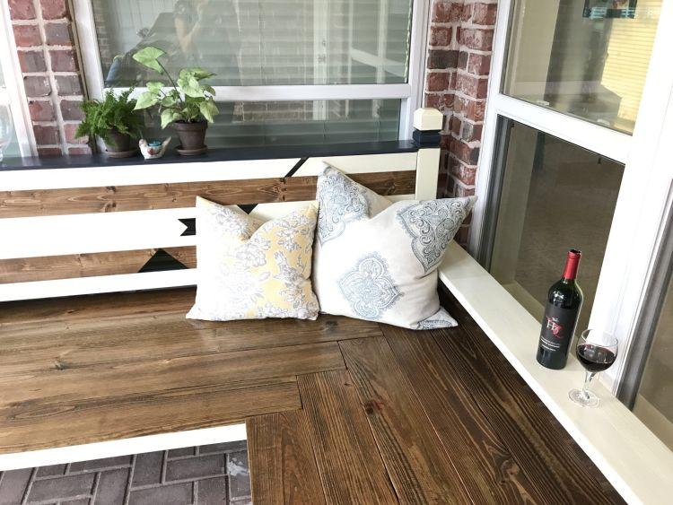 Outdoor Bench DIY post coming this week.