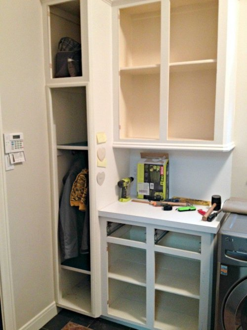 100 Diy Mudroom Bench From Old Cabinets Abbotts At Home