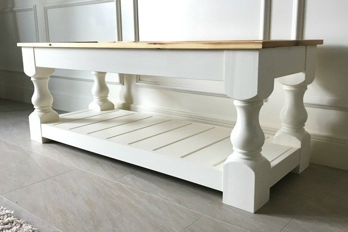 Build a Modern Farmhouse Bench or Coffee Table – Part 1