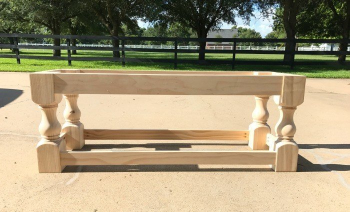 A DIY Upholstered Bench With A Shelf. How To Build An Upholstered Bench For  The