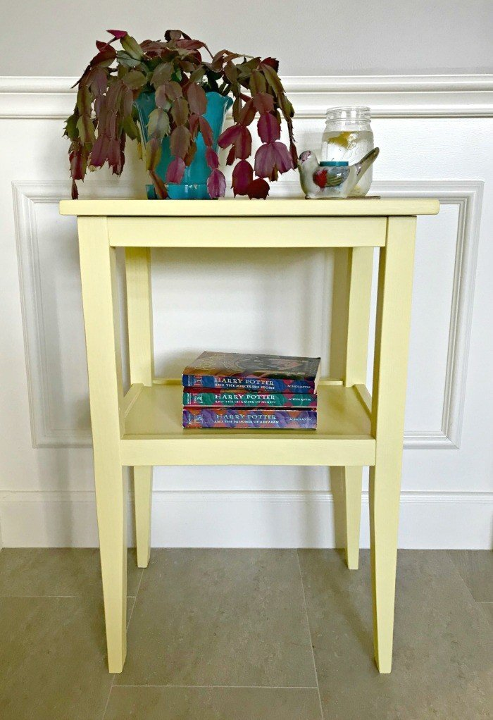 Build a Pretty DIY Side Table for less than $20, Win!