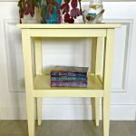 Simple and Pretty Side Table Plans. Get these easy to follow build plans for this side table for bedroom or living room. #SideTable #Plans #DIY