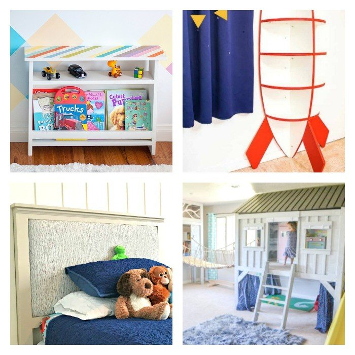 Fun Kids Rooms: 20 Fun DIY Kids Room Ideas And Tutorials