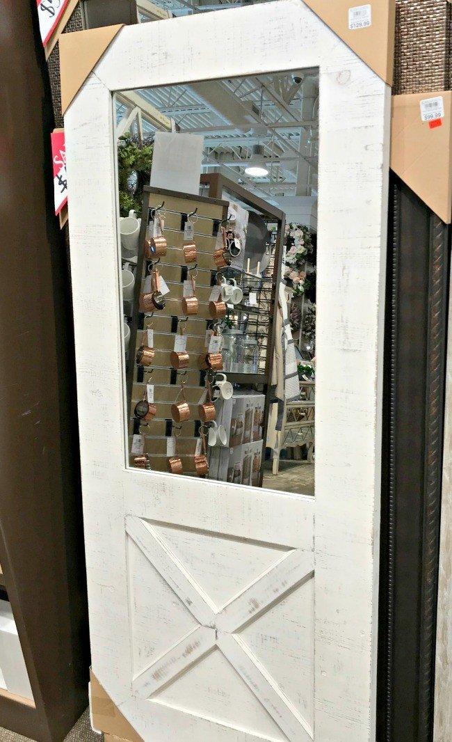 Replace glass in a door with a mirror. This months furniture design ideas and inspiration are partly my own DIY builds and partly great pieces I found at Home Goods and Kirklands. I took these pictures to keep track of nice designs I might want to inspire a future build. Today I'm sharing these furniture design ideas with you!