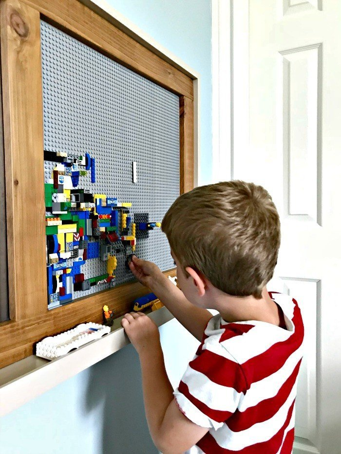 DIY Modern Farmhouse Kids Activity Wall Board